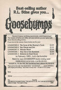 Goosebumps 1-5 booklist best-selling from OS 5