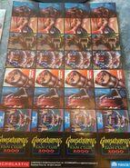 Fan Club 2000 Spooky Stickers