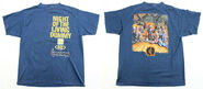 40 Night Living Dummy III eatenborder blue T-shirt f+b