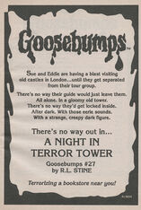 OS 27 A Night in Terror Tower bookad from OS26