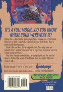 OS 60 Werewolf Skin back cover 1stprint reg Terrifying Mask