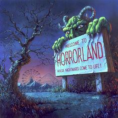 One Day at HorrorLand - artwork