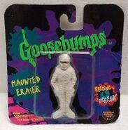 Mummy Khor-Ru Haunted Eraser in package
