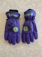 Purple Bat and G-Splat Gloves