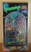 Horrorland Electronic Pinball handheld game in pkg front