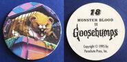 18 Monster Blood II 1995 Pog Cap f+b