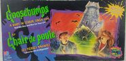 Night in Terror Tower Board game box front english + french