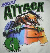 18 Monster Blood II Hamster Attack sweatshirt detail
