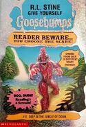 GYG 11 Deep Jungle of Doom Australian cover