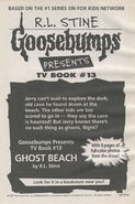 Presents TV ep 13 Ghost Beach bookad from Tales 5 1997