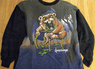 Cuddles 1996 grey sweatshirt