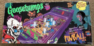 Curly Mummy Electronic Pinball Game Box front