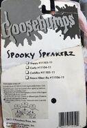 Spooky Speakers pkg back 4 characters