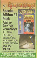 Tales 1 Book + Light Pack March 1998 book order ad