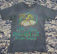 42 The Egg Monster from Mars 1996 blue T-shirt