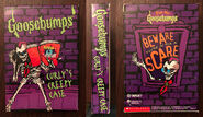 Curlys Creepy Case 1996 Target Promo book sleeve f+b+s