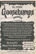 Presents TV ep 08 Careful What You Wish For bookad from OS50 1996 1stpr