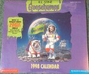 1998 wall calendar cover