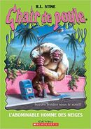Abominable Snowman French Canadian reprint