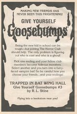 GYG 03 Trapped Bat Wing Hall bookad from OS37 1995 1stpr