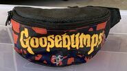 GB logo blue red fanny pack