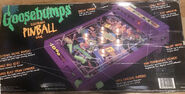 Horrorland Electronic Pinball Game box back