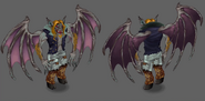 In-game graphics monster Nighwing
