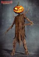 Haunted Halloween Pumpkinhead Concept 1