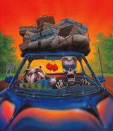 Goosebumps Post Card Book - artwork