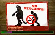 No Pinching loading screen