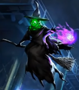 DONG loading screen witch