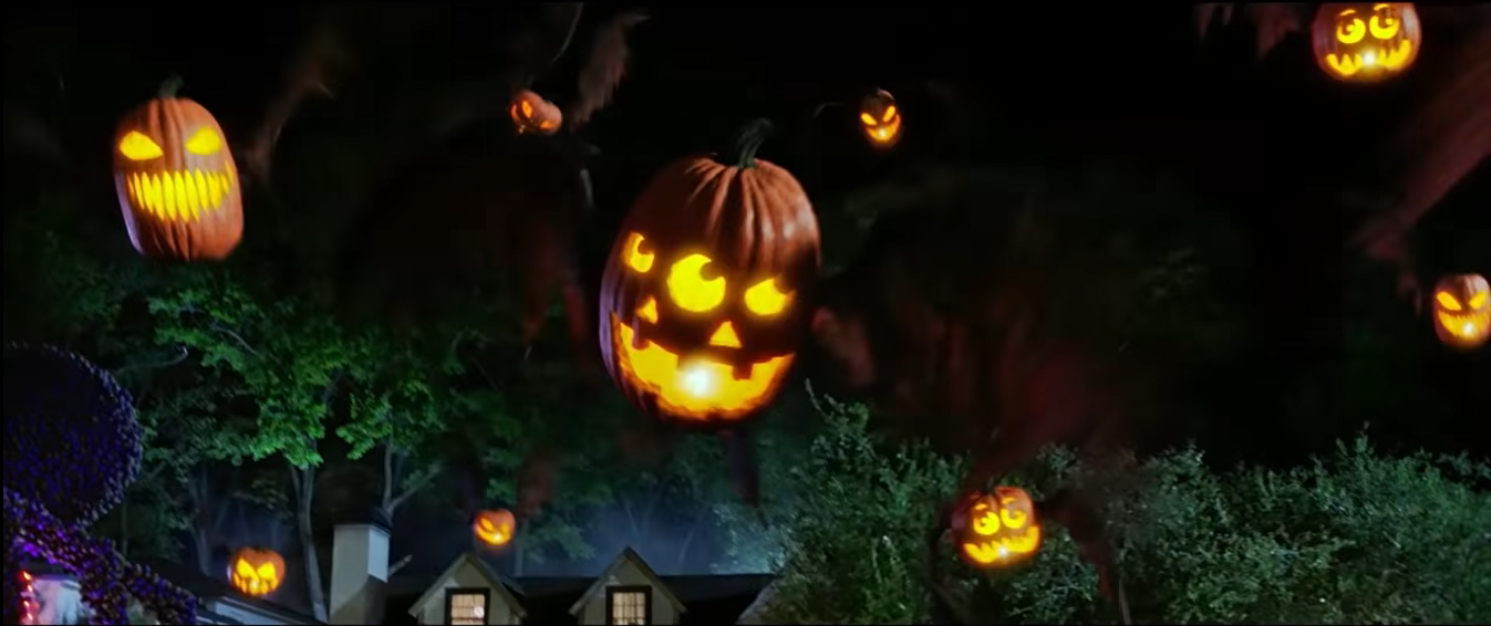 Flying Jack-O'-Lanterns