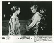 Steve Carly Beth Haunted Mask II press photo