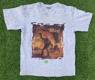 Mud Monster sqbrdr grey t-shirt