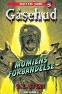 The Curse of the Mummy's Tomb - Danish Classic Cover - Mumiens forbandelse
