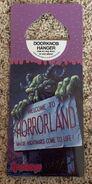 Horrorland 16 Antioch doorknob hanger front