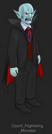 Nightwing's original vampire form sprite
