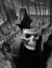The Five Masks of Dr. Screem (Full Art)