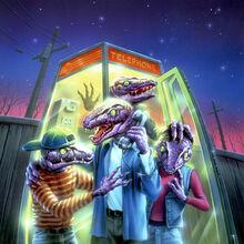 Calling All Creeps! - artwork