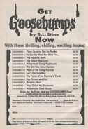 Goosebumps 1-13 booklist thrilling from OS 14