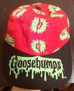 G-splat logo red and black baseball cap hat