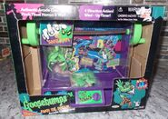 1996 Pinch the Horror Arcade Claw game pkg front