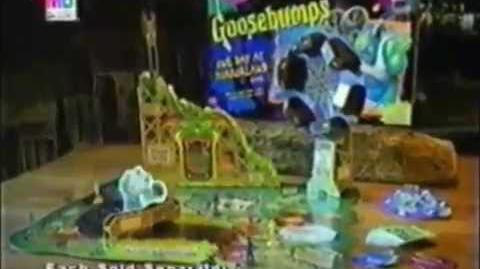 Goosebumps One Day at HorrorLand Game Ad (1997)