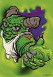 Horror-tradingcard-glowinthedark