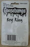 Goosebumps Key Ring Buy-Rite in pkg back