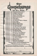 Goosebumps 1-28 booklist Get Gb from OS 30