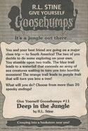 GYG 11 Deep in the Jungle bookad from GYG10 1996