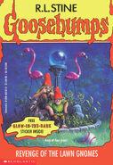 OS 34 Revenge Lawn Gnomes cover 1stprint w sticker