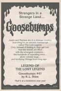 OS 47 Legend of Lost Legend bookad from OS46