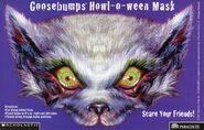 Goosebumps 60 Werewolf Skin Howl-o-ween mask